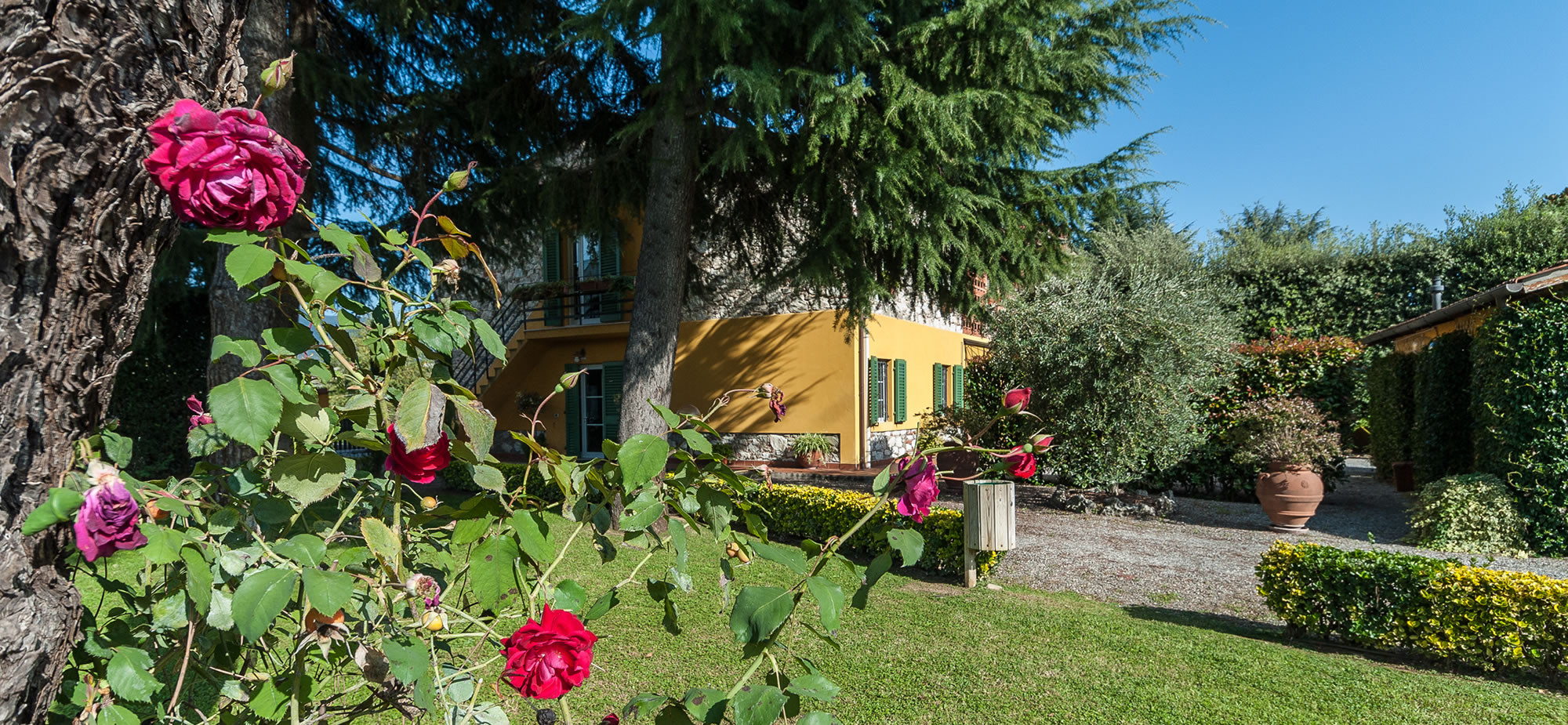 Giardino esterno Residence Paolina
